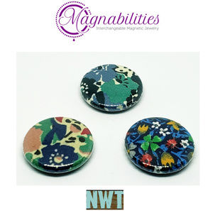 "NEW Magnabilities Three 1"" Inserts"
